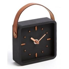 Часы настольные AA2774Y01 - MERCY черные Laforma 2018