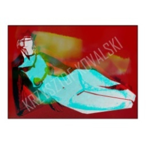 """Картина малая 33 см  """"Венера 5"""" красная Pikart"""