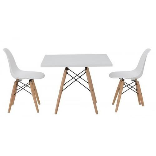 Стол обеденный Квадро белый Mebelmodern