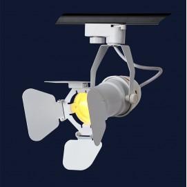 Прожектор на треке 761GD01-1 WH белый Thexata 2019