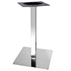 Опора для стола Кама основание 40*40 см хром Mebelmodern 2018