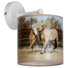 Бра HORSES MLP849 коричневое MiLAGRO