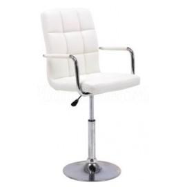 Стул полубарный HY-356-3AHMB белый Primel