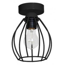 Лампа потолочная DON MLP747 черная MiLAGRO