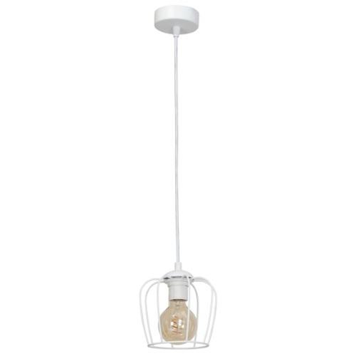 Лампа подвесная VINTAGE MLP118 белая MiLAGRO