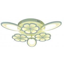 Люстра потолочная 755MX10002-3+3 WH LED  белая Levada 2019