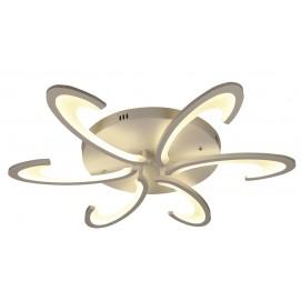 Люстра потолочная 755MX10014-6 WH LED белая Levada 2019