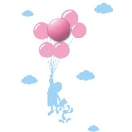 Бра детское BALLOONS ML142 розовое MiLAGRO