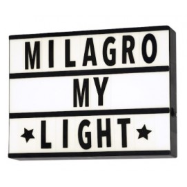 Настенный светильник LIGHT BOX ML223 белый MiLAGRO