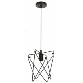 Лампа подвесная KEPLER 021 011 0001 черная Horoz