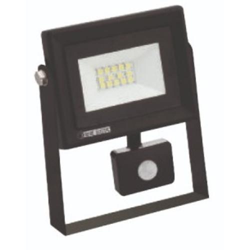 """Прожектор светодиодный с датчиком """"PARS/S-10"""" 10W 6400K черный 068 009 0010 Horoz"""
