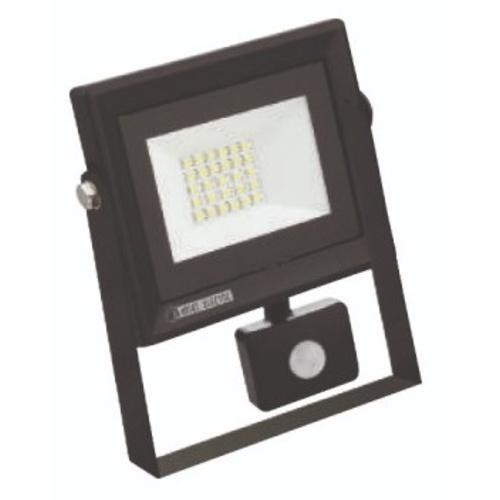 """Прожектор светодиодный с датчиком """"PARS/S-20"""" 20W 6400K черный 068 009 0020 Horoz"""