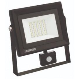 """Прожектор светодиодный с датчиком """"PARS/S-30"""" 30W 6400K черный 068 009 0030 Horoz"""