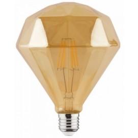 """Лампочка """"RUSTIC DIAMOND-6"""" 6W Filament led 2200К E27 Horoz"""