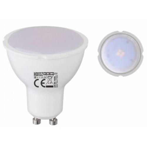 """Лампа """"PLUS-6"""" 6W 6400K, 4200К, 3000К GU10 Horoz"""