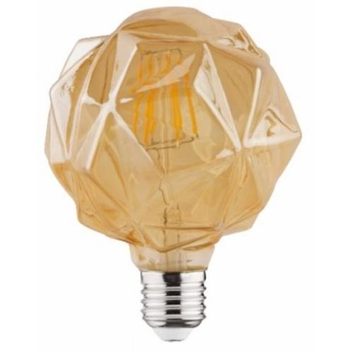 """Лампочка """"RUSTIC CRYSTAL-4"""" 4W Filament led 2200К E27 Horoz"""