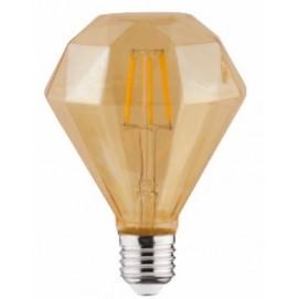 """Лампочка """"RUSTIC DIAMOND-4"""" 4W Filament led 2200К E27 Horoz"""