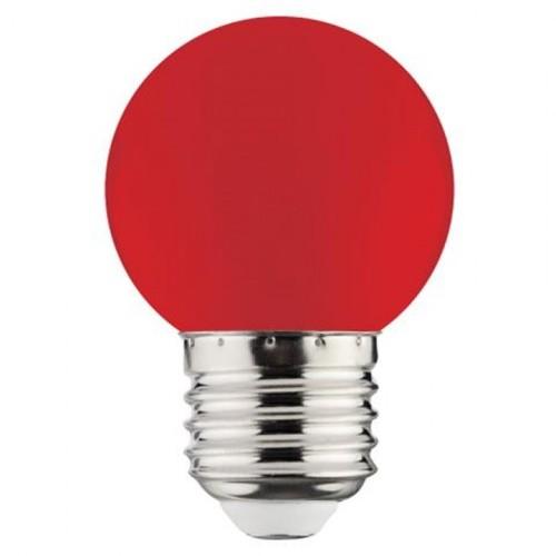 "Лампа Светодиодная ""RAINBOW"" 1W E27 A45 (красная) Horoz"