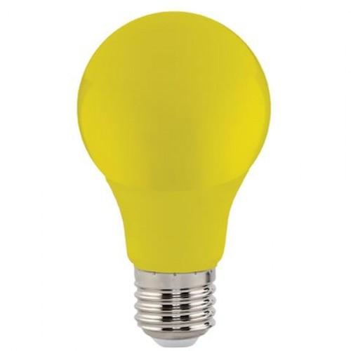"Лампа Светодиодная ""SPECTRA""3W E27 A60 (желтая) Horoz"