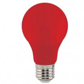 "Лампа Светодиодная ""SPECTRA""3W E27 A60 (красная) Horoz"