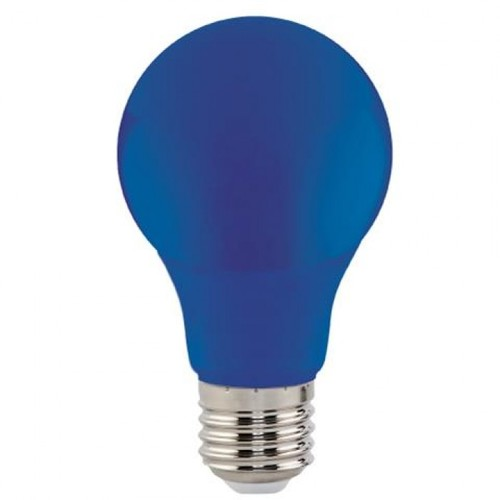 "Лампа Светодиодная ""SPECTRA""3W E27 A60 (синяя) Horoz"