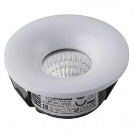 """Точечный светильник встроенный """"BIANCA""""3W 4200К белый 016 036 0003 Horoz"""