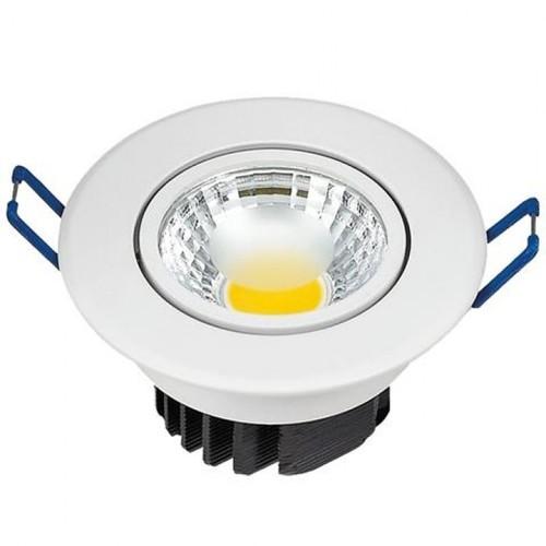 """Точечный светильник LILYA-5"""" 5W 4200К 016 009 0005 белый Horoz"""