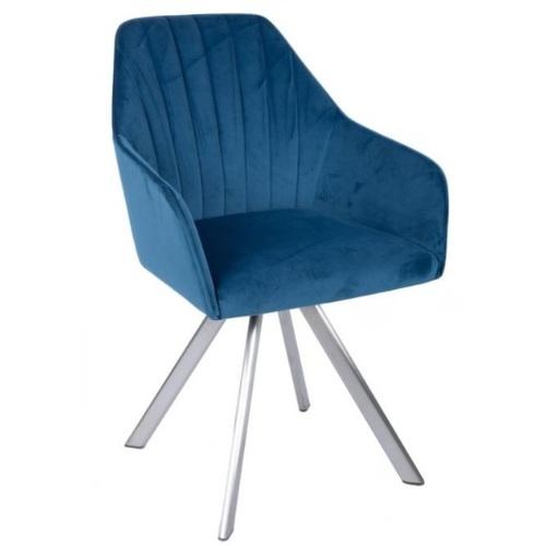 Кресло поворотное GALERA синее Kolin 2019
