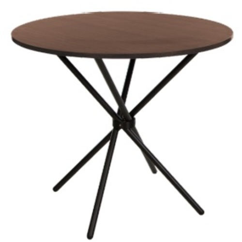 Стол обеденный AQUA H18 chrome орех Nowystyl