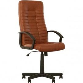 Кресло офисное BOSS TILT PL ECO 21 коричневое Nowystyl