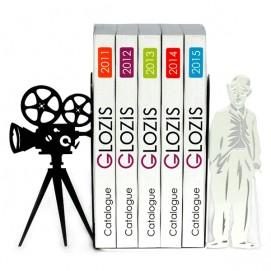 Упоры для книг Glozis Chaplin G-025 черные