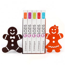 Упоры для книг Glozis Gingerbread G-021 цветная