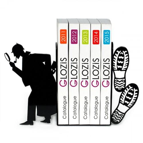 Упоры для книг Glozis Sherlock G-029 черные