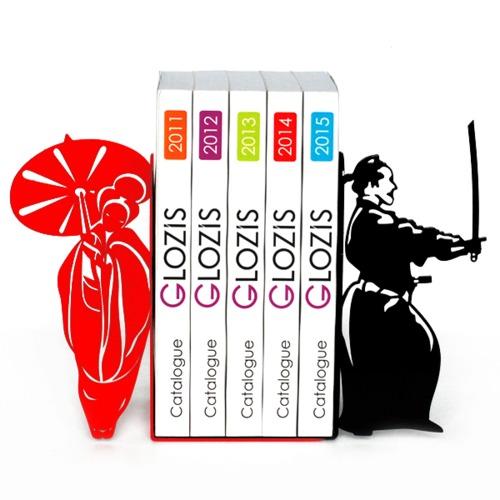Упоры для книг Glozis Japan G-027 красные