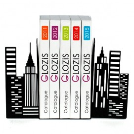 Упоры для книг Glozis City G-026 черные