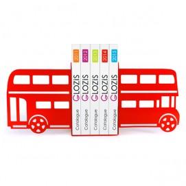 Упоры для книг Glozis Bus красные