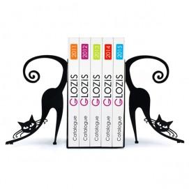 Упоры для книг Glozis Cats черные