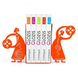 Упоры для книг Glozis Ethnic оранжевые