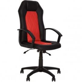 Кресло офисное PRAGMATIC ANYFIX PL ECO 30, ECO 90 красно-черное Nowystyl
