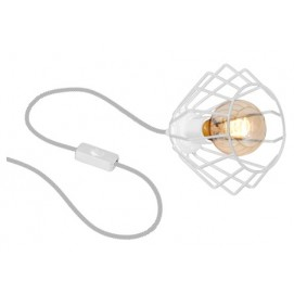 Лампа настольная FERRO MLP537 белая MiLAGRO