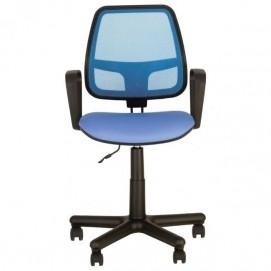 Кресло офисное ALFA GTP PM FJ 3, OH 3 синее Nowystyl