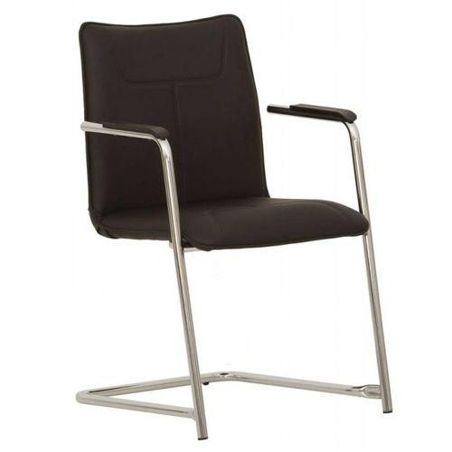 Кресло офисное DESILVA ARM CHROME ECO 30 черное Nowystyl