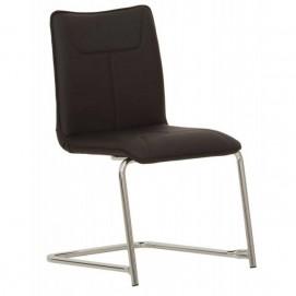 Кресло офисное DESILVA CHROME ECO 30 черное Nowystyl