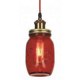 Лампа подвесная 756PR9544-1 RED красная Thexata 2019