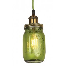 Лампа подвесная 756PR9544-1 GREEN зеленая Thexata 2019