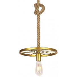 Лампа подвесная 756PR9543-1 GD золото Thexata 2019