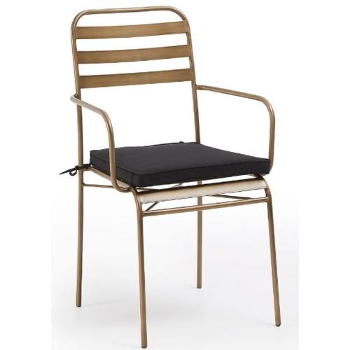 Кресло CC1004R83 - KUALA золото Laforma 2019