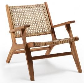 Кресло CC1059M46 - GRIGNOON натуральное Laforma 2019
