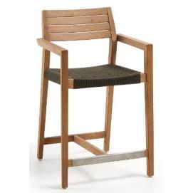 Кресло полубарное CC1028J15 - THOR натуральное Laforma 2019