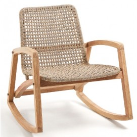 Кресло качалка CC1041J35 - TANISKA натуральное Laforma 2019